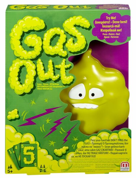 Mattel Games Gas Out Game DHW40 $41.69