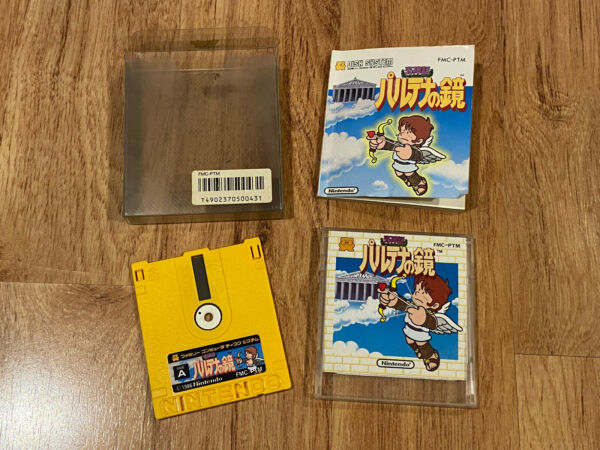 Kid Icarus Palutena no Kagami Complete in Box Japan Nintendo Famicom Disk System