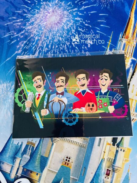 2021 Disney Parks Carousel Of Progress 5x7quot; Postcard Sam Carter