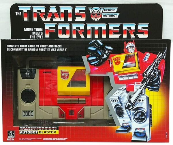Transformers Vintage G1 Autobot Blaster Collectible Action Figure