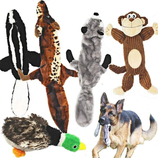 5 Pack Dog Squeaky Plush Toys with Stuffing for Small Medium Large Dog Pets $37.88