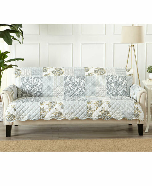 Quilted Cottage Furniture Covers Slipcovers Protector Chair Loveseat Sofa Couch $18.80