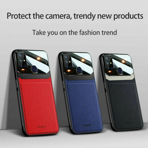 For OnePlus Nord N10 5G N100 Luxury Shockproof PU Leather Hybrid Slim Case Cover $6.99