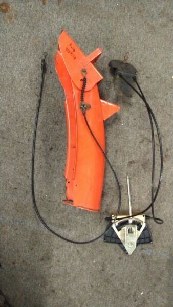 Husqvarna Snow Chute with cables from 9027STB