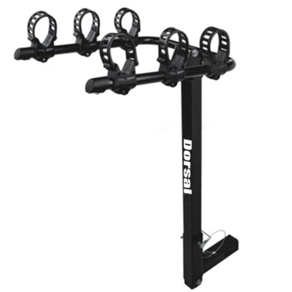 DORSAL Hitch Mount Bike Carrier Rack Fits 3 Bikes For 2quot; Receivers $85.95