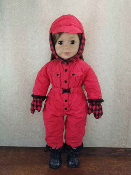 Pleasant Company American Girl Doll Clothes 18 Inches Dogsled Outfit