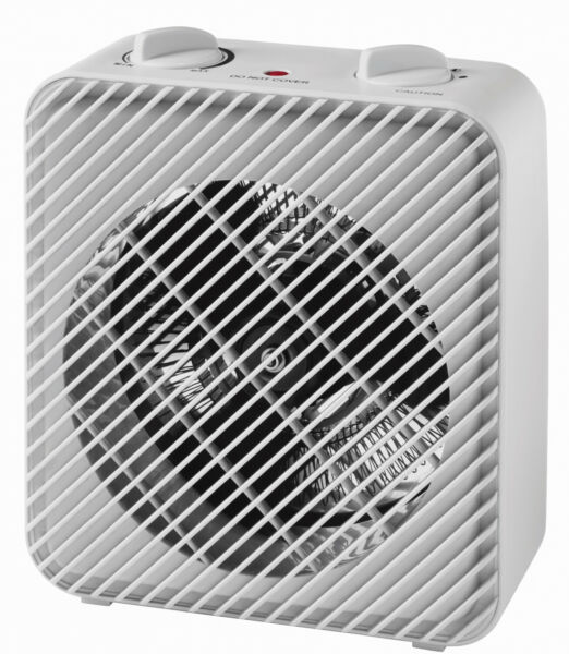 Portable Personal Electric Heater 3 Speed Fan 1500 W Lightweight Compact White $24.99