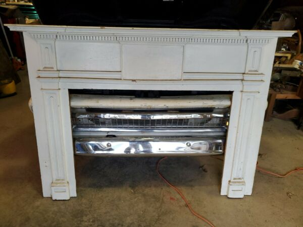 Salvaged Antique Fireplace Mantel 1800#x27;s house in New York
