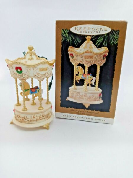 Forbin Fraley Holiday Carousel Light And Music. Hallmark Keepsake Ornament