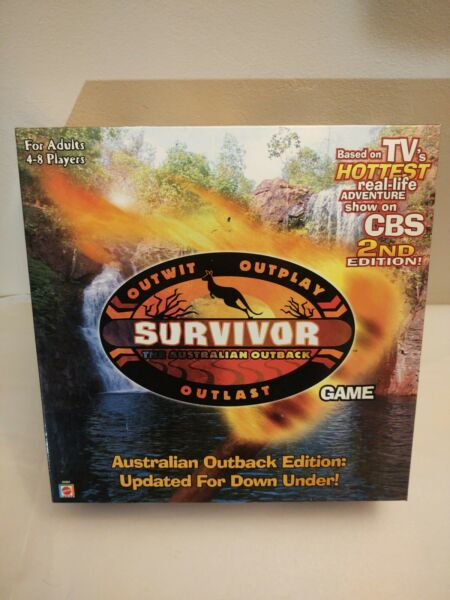 Survivor the Australian Outback 2nd Edition Board Game Complete Game $16.99