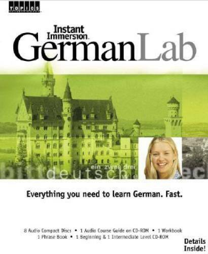 Instant Immersion German Lab Audio CD By Instant Immersion VERY GOOD $9.17