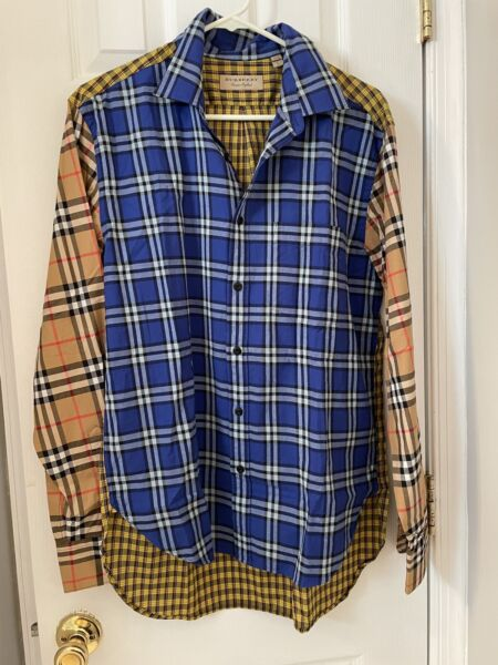 100% Authentic Burberry Shirt. New Without Tag. Size L $249.99