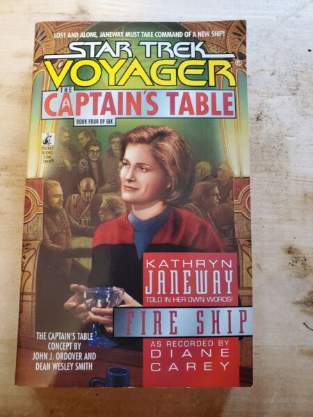 PB 4 of 6 Star Trek Voyager The Captain#x27;s Table quot;Fire Shipquot;