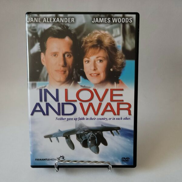 In Love and War DVD Very Good FREE SHIPPING $10.00
