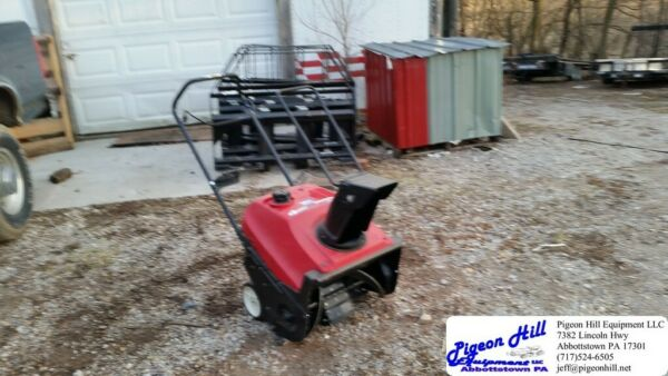 Honda HS520 Single Stage Snowblower