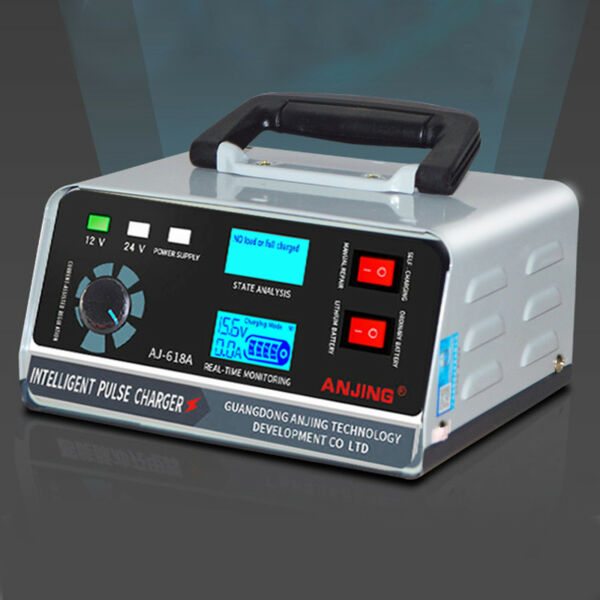 Heavy Duty Smart Car Battery Charger Automatic Pulse Repair Trickle 12V 24V USA $44.00