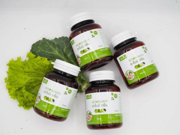 Shining Armoni Green Supplement: Detox Prebiotic Extracts from Plants and Leafs