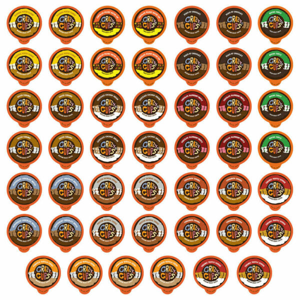 Crazy Cups Chocolate amp; Flavored Coffee Lovers K cup Variety pack48 count