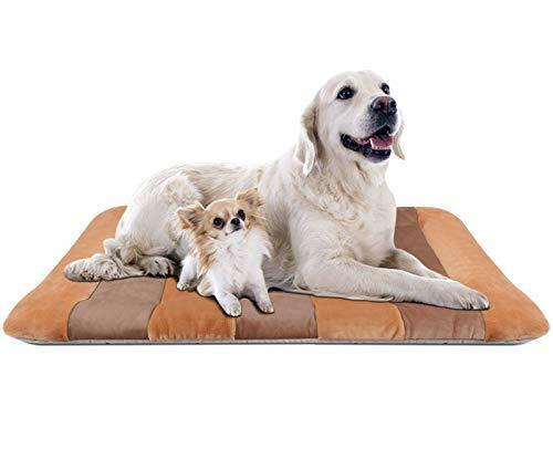 Dog Bed Large Crate Bed Mat 47quot; Pet Beds Washable