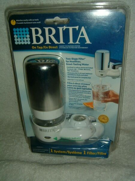 Brita On Tap Faucet Filtration System Model FF 100 Two Stage Filter