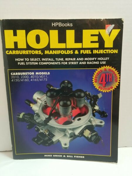 HP Books HP1052 Book Holley Carburetors Manifolds amp; Fuel Injection 4th Edition $15.00