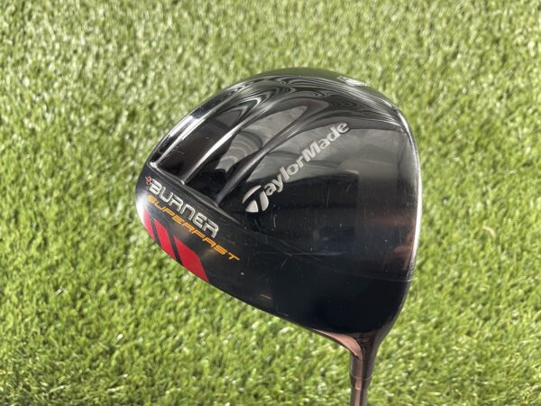TaylorMade Burner Superfast Driver 9.5* TP Matrix Ozik HD6 Stiff Graphite Men RH