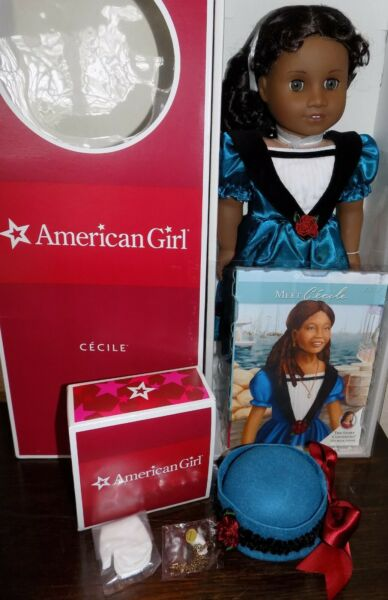 RARE and NRFB American Girl Doll Cecile with Accessories