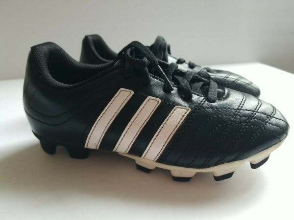 Adidas boys toddler soccer cleats 13.5 Black Little Kid $14.99
