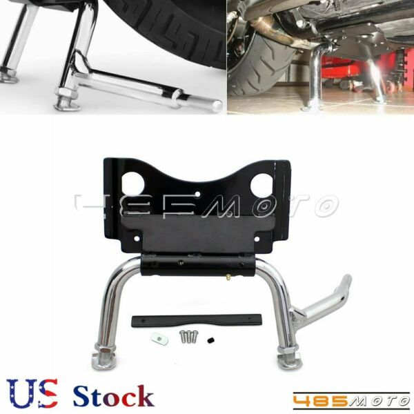 For Harley Replacement Road King FLHR CNC Adjustable Lowering Lever Center Stand $89.99