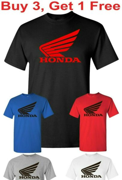 t shirt motorcycle cbr wing crf 1000 600 compatible With Honda t shirt tee $12.95