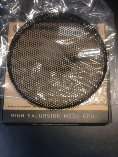 MEMPHIS High Excursion Mesh Grill 10 Inch Subwoofers