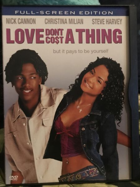 Love Dont Cost a Thing DVD 2004 Full Screen $4.99
