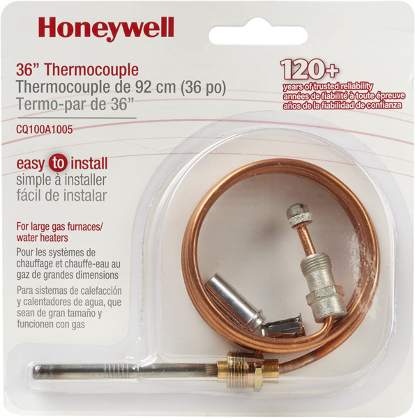 Home CQ100A1005 U CQ100A1005 Thermocouple for Gas Furnaces Boilers New $13.29