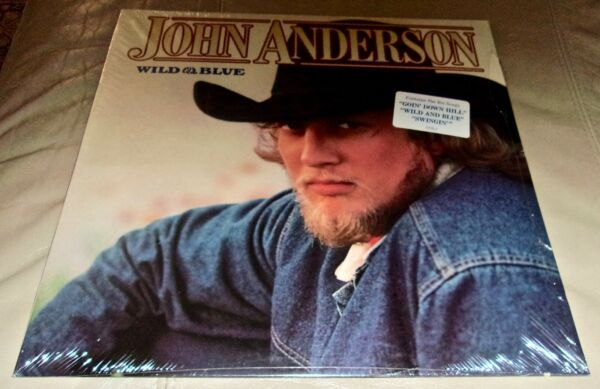 Wild amp; Blue by John Anderson Vinyl LP 1982 USA Sealed