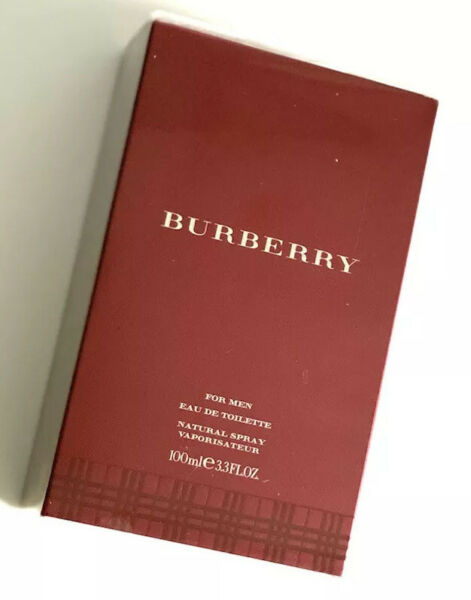 Burberry For Men Burberry London Classic EDT 3.3 oz NEW SEALED MSRP $80 $20.50