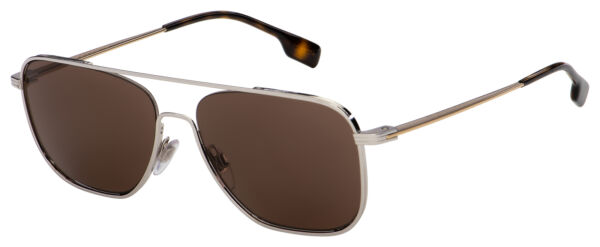 Burberry Sunglasses BE 3112 130173 59 Silver Gold Brown Lens $123.20