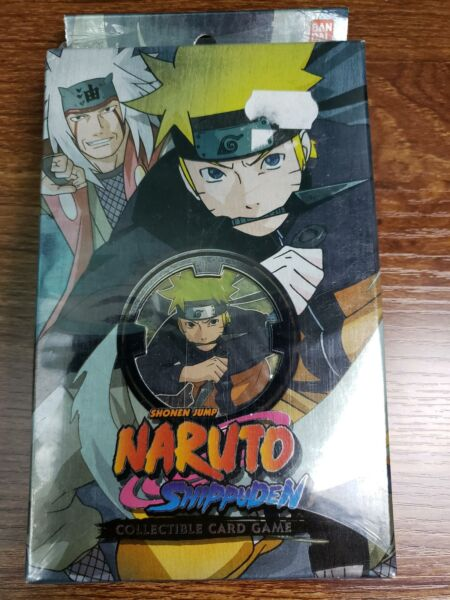 Will of Fire Set 17 Theme Deck x1 Naruto Art Naruto CCG Card Game Seal