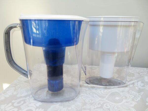 Brita Slim Small 5 Cup Water Filtration Pitcher No Filter Included