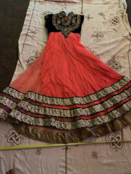 Lot vintage dresses amp; costumes Beautiful heavily embroidered dress from india