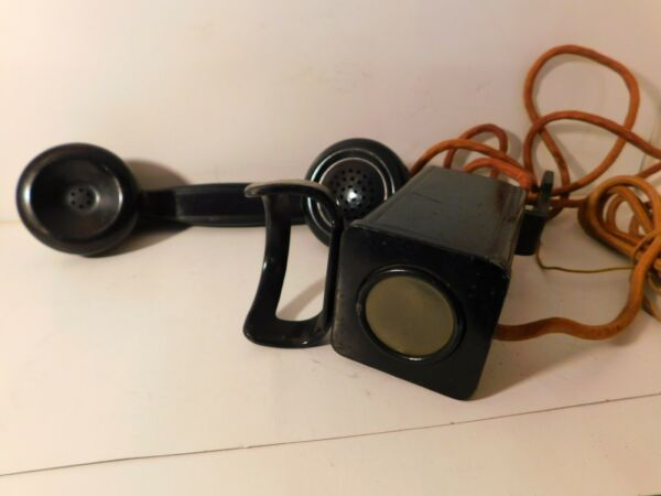Very Nice WESTERN ELECTRIC Model 211 SPACESAVER PHONE Non DIAL Type amp; Sold AS IS $40.49