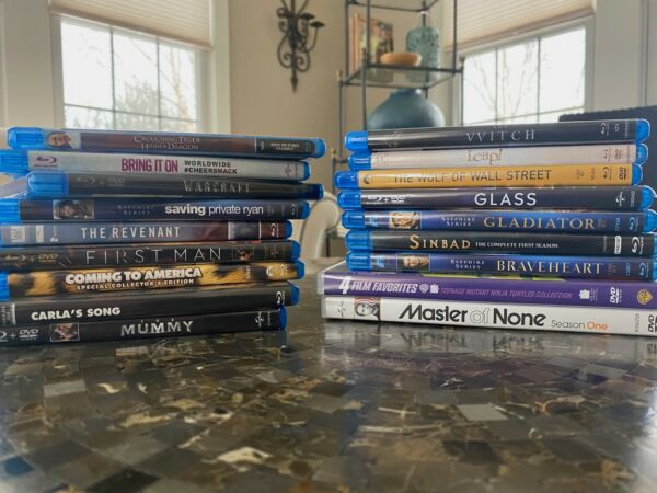 BUILD YOUR OWN BLU RAY LOT * BLU RAY * DVD * DISNEY * TV