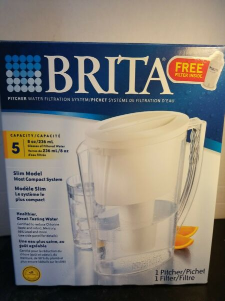 Brita Slim Pitcher Water Filtration system