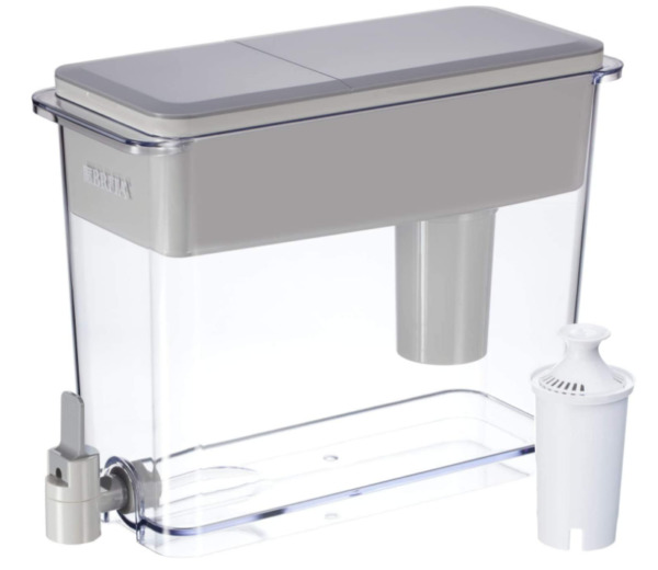 Standard UltraMax Water Filter Dispenser Gray Extra Large 18 Cup 1 Count