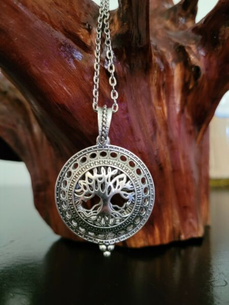 Metal Tree Necklace