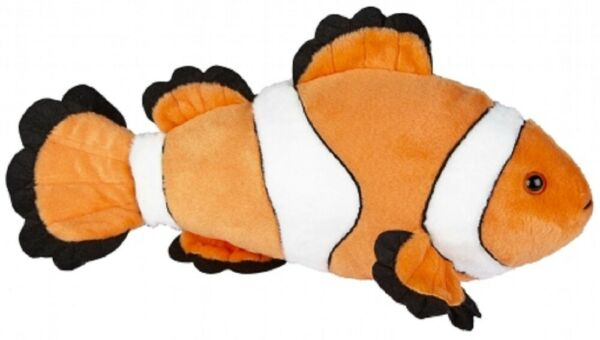 RAVENSDEN SOFT TOY CLOWN FISH 40CM FR061B FINDING ORANGE CUDDLY WHITE CUTE NEMO $14.80
