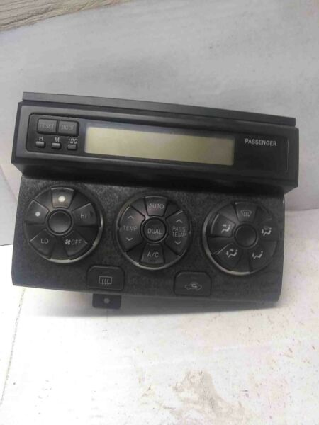 2003 04 TOYOTA 4RUNNER SR5 HEATER AC CLIMATE CONTROL PANEL SWITCH HVAC W DISPLAY $90.00