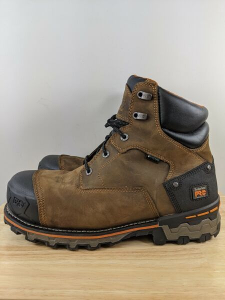 Timberland Pro Men#x27;S Sz 13 Wide 6quot; Boondock Comp Toe Wp Insulated Boots $84.99
