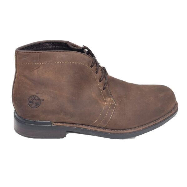 Timberland Chukka Boots Mens Size 13 Brown Suede Shoes 86573 4378 Lace Up $58.63