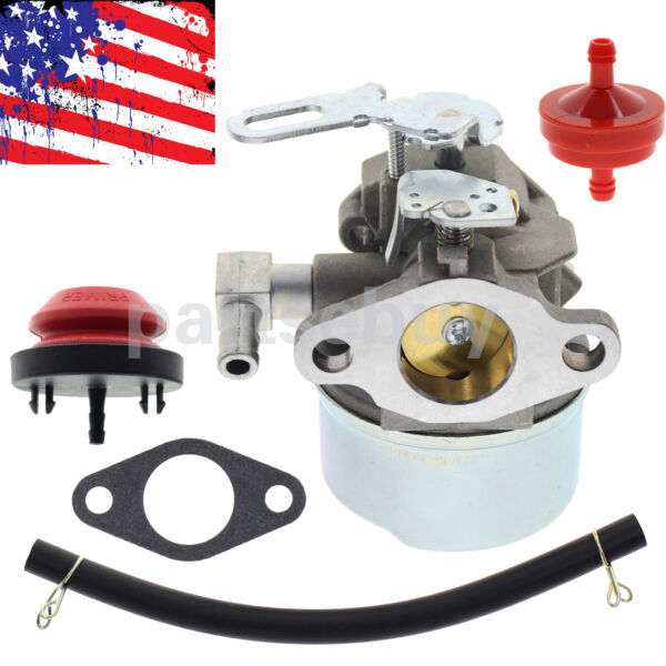 Carburetor Carb for 5 HP 24quot; Snowblower Ariens ST524 with Gasket Prime Bulb