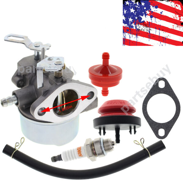 For Tecumseh Sears Craftsman snow blower Engine Model 143 029003 carburetor carb